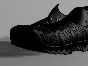 Adidas Inspired Sneaker