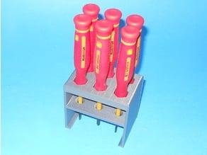 Insulated Precision Screwdriver Rack