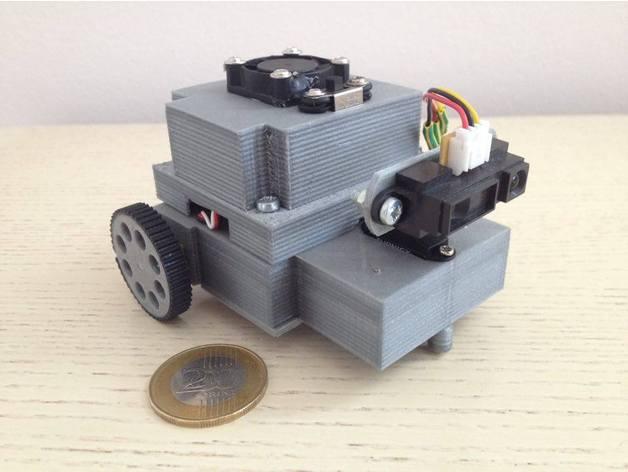 Arduino mini autonomous DIY robot by gybalazs - Thingiverse