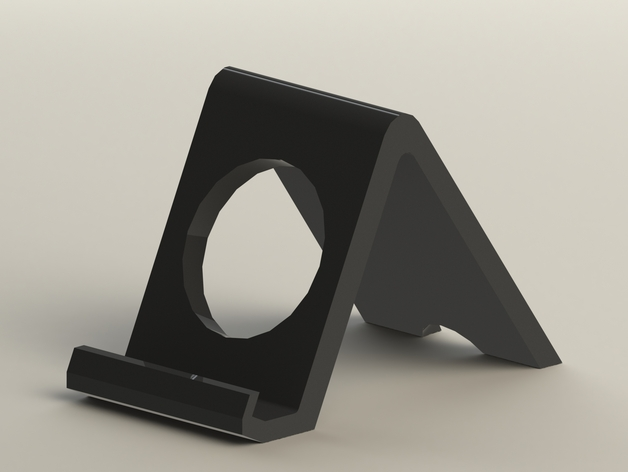 iPhone 6 and 6 Plus Phone Dock Stand (Works with Samsung's S5 and Note 4 too)