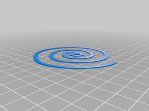 Flatness Spiral Test, not a coil incense