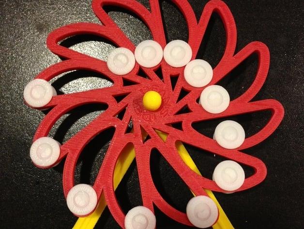 Perpetual Motion Test - Da Vinci Overbalanced Wheel by idea_beans ...