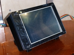 Zallus Reflow Controller Case, with mounting brackets and bezel