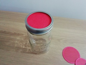 Customizable Sprouting Lid Strainer for Mason Jar