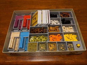 Agricola Organizer for Resources and Player Pieces