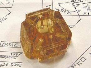 Miracle  Adhesion Sitall glass U3D