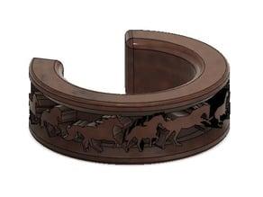 Horse Themed Napkin Holder or Bracelet