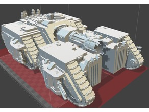 Megalydon Tank (30k/40k/Titanicus Proxy)