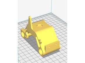 ANET A6 E3D V6 Carriage for Hallon sensor