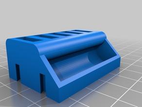 Custom USB holder with Tray