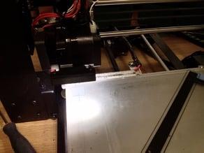 LED strip mount for the Wanhao Duplicator i3 fan bracket