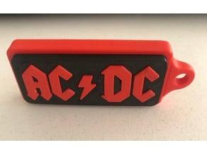 AC/DC keychain