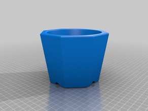 Octagonal Flower Pot