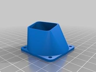 Customizable fan nozzle for 40mm fans