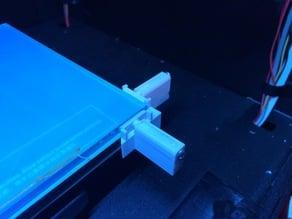 Glass Bed Holder - Spring Plunger