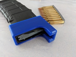 Magpul AR15 Magazine Speedloader for GECO .223 REM clips