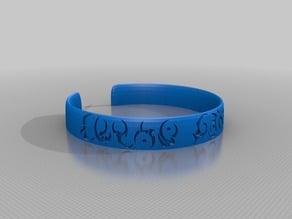 Alien Symbols Bracelet