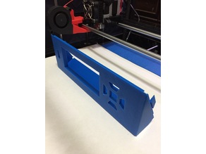 ReliaBuild 3D Tilted LCD case - Rounded edges