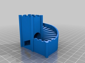 stairs dice tower