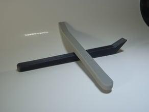 Center cap pry tool