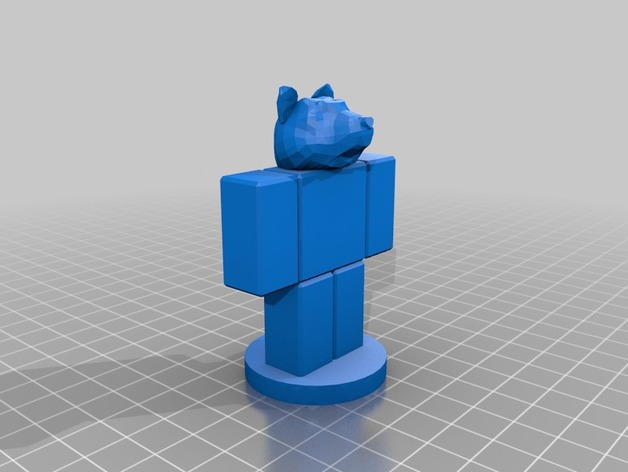 Roblox Doge With Stand By Mynamesjeffxd Thingiverse