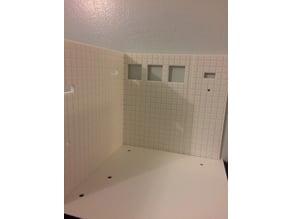 wall & floor  (bathroom)