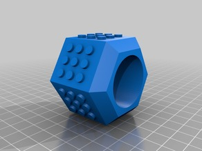 Lego Inspired Napkin Ring