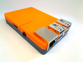 slim Raspberry Pi 2/B+ case - screwless