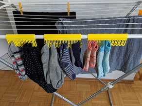 Sock Clips for Drying Rack