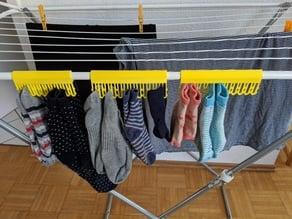 Sock Clips for Drying Rack