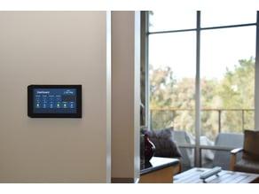 Flush Wall-Mount for Raspberry Pi Touchscreen