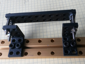 MakeBlock bracket and plate