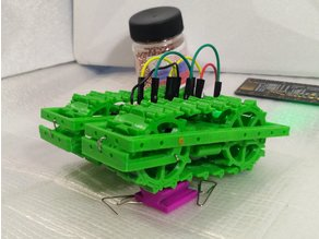 Caterpillar bot chassis.