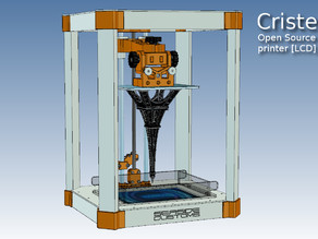 Cristelia - Open Source LCD SLA resin printer [ DayLight ]