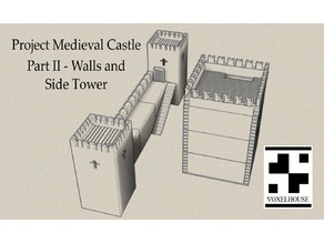 Castle System - Part II - Walls and Side Tower