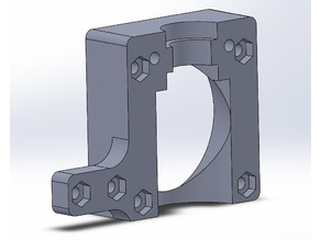 V6 mount for X-carriage system
