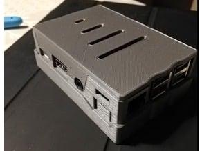 Raspberry Pi 3 b+ No screws Case