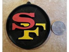49ers Medallion