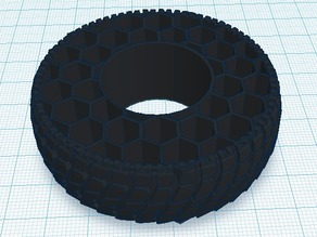 Honeycomb tire. OLD VERSION (New Version Available)