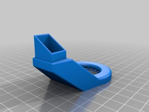 Anet A8 E3D v6 Mount with ducts and sensor