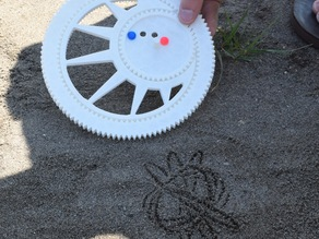 Sand Spirograph (improved handle)