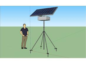 Solar Station Stand