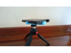 Sony mp-cl1 Laser Projector Tripod Mount Fully Printable