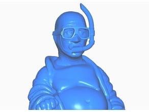 Diver Snokel Buddha