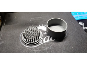 Hookah Foil Punch With Cover