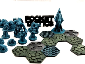 Pocket-Tactics: Wizzards of the Crystal Forest (Second Edition)