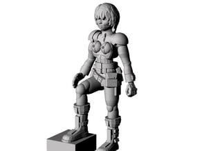 28mm Sci-Fi girl miniature