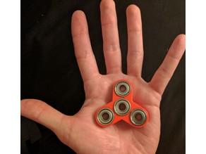 Mini Fidget Spinner Designed for Kids!