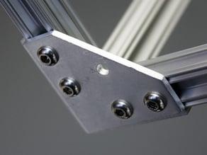 Microrax corner style joining plate AP30301
