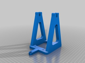 PLA support for EZT T1 kossel